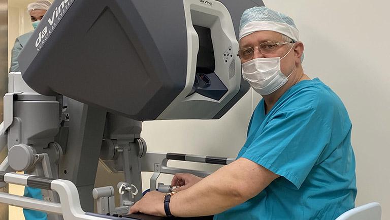 Chirurgie robotica urologie - Dr. Prof. Ioan Coman - Cluj-Napoca